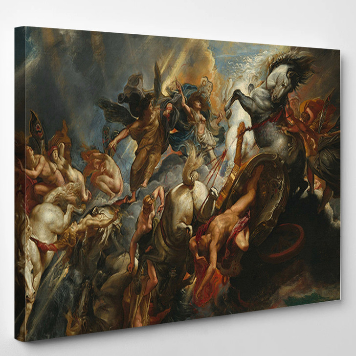 The Fall Of Phaeton By Peter Paul Rubens - Abstract Canvas Wall Decor