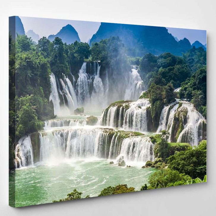 Detian Waterfall - Nature Canvas Wall Decor