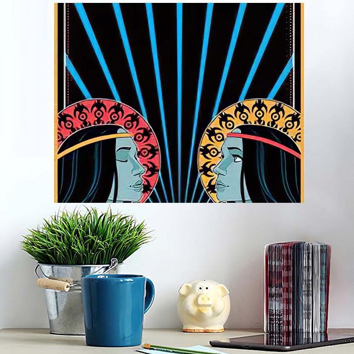 1960S 1970S Music Poster Cover Stylization - Hippies Wall Art Poster