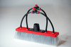 tucker dual trim nylon bristle water fed brush with 2 pencil jets and 2 fan jets