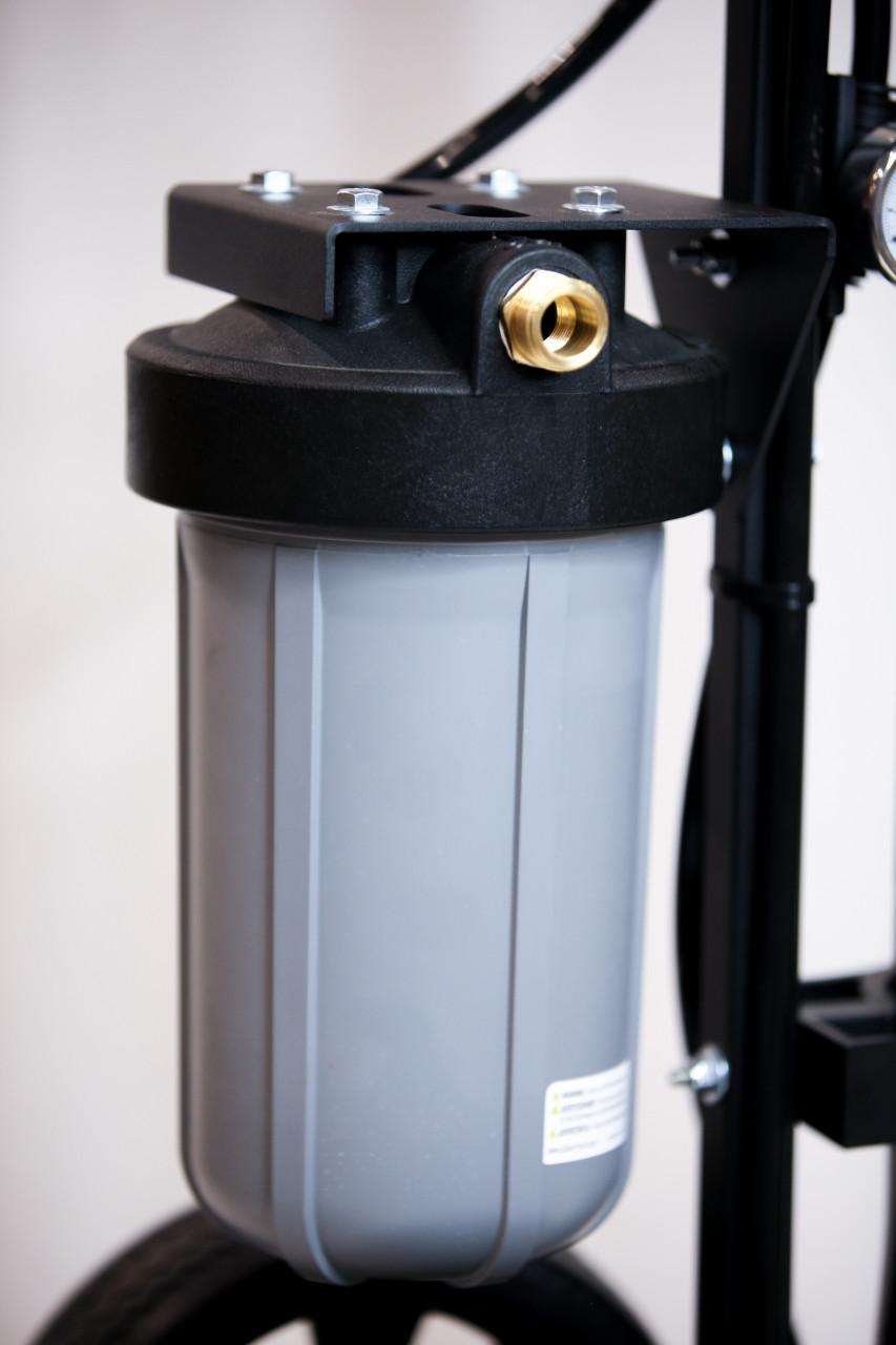 Tucker® Water Fed Pole - 4 Stage PRO HIGH FLOW Kit w/27' Carbon Fiber Pole