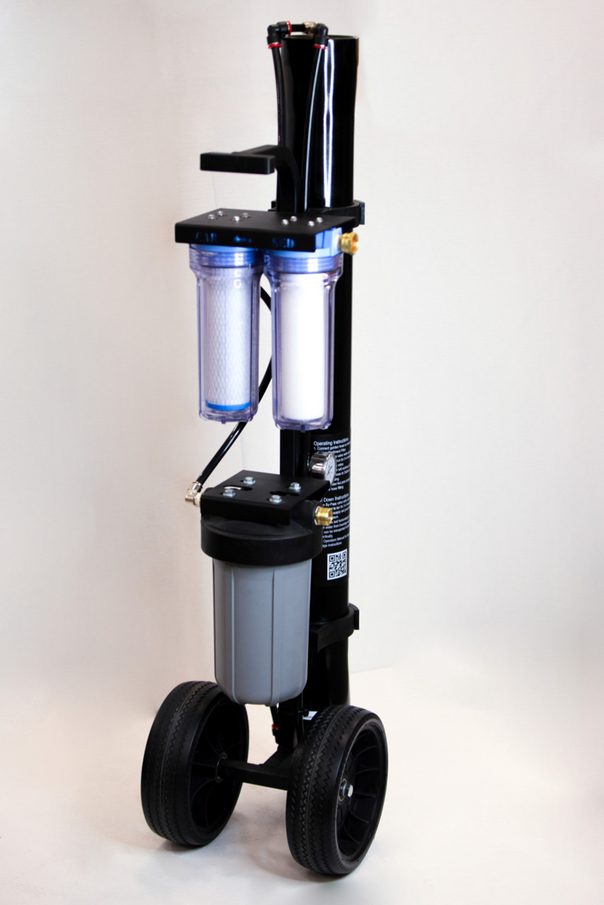Tucker® PRO HIGH FLOW 4 Stage RO/DI Cart