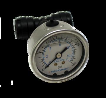 Inline Pressure Gauge