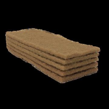 Tucker® Walnut Scrub Pads