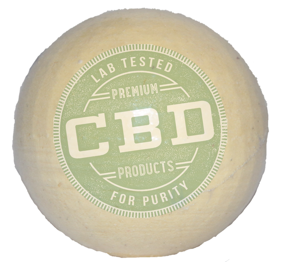 PURE 100% Full Spectrum CBD  Coconut Lime Bath Bomb