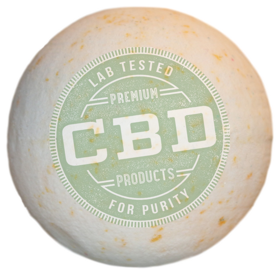 PURE 100% Full Spectrum CBD Eucalyptus Bath Bomb