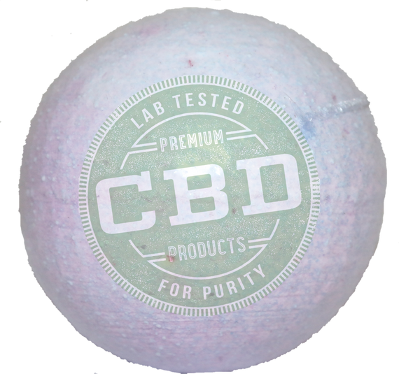 PURE 100% Full Spectrum CBD  Lavender Bath Bomb