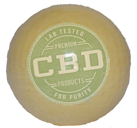 PURE 100% Full Spectrum CBD Sandalwood Bath Bomb