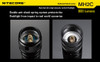 Nitecore MH2C Multi Hybrid Series 800 Lumen Rechargeable XM-L U2