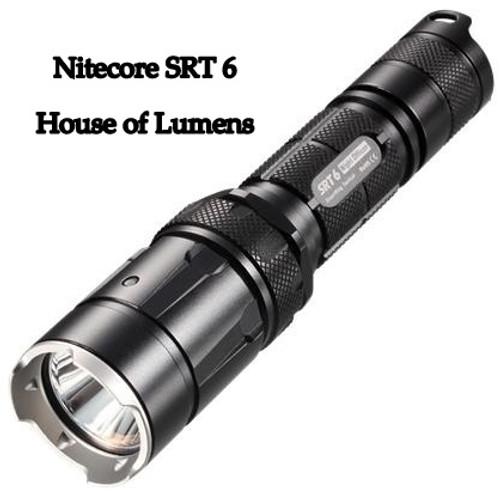 Nitecore SRT6 SmartRing Tactical 930 Lumen Cree XM-L2 T6