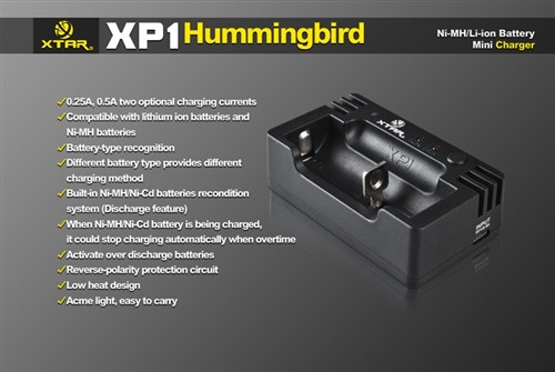 Xtar XP1 Hummingbird Battery charger