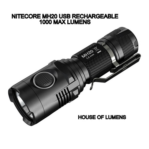 Nitecore MH20 USB Rechargeable