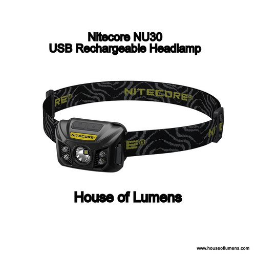 Nitecore NU30 USB Rechargeable Headlamp