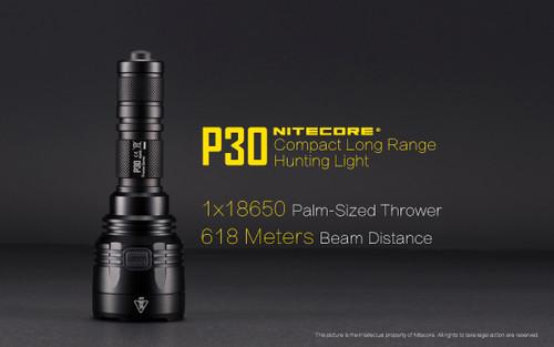 Nitecore P30 long range CREE LED flashlight