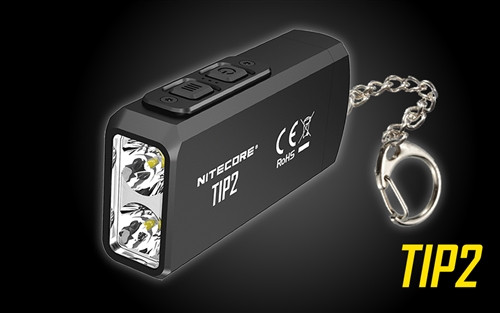 Nitecore TIP 2 Rechargeable keychain light