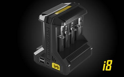 Nitecore I8 Intellicharger 8 slot universal battery charger