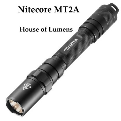 Nitecore MT2A  AA battery LED Flashlight