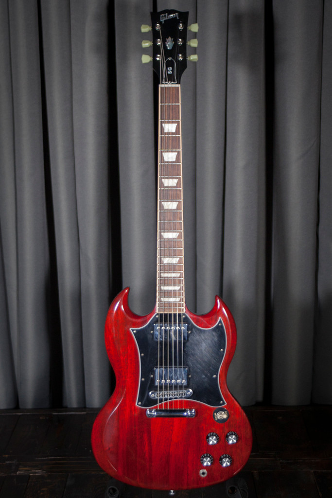 Used 2016 Gibson SG Standard Heritage Cherry Electric Guitar w/Bag - SOLD