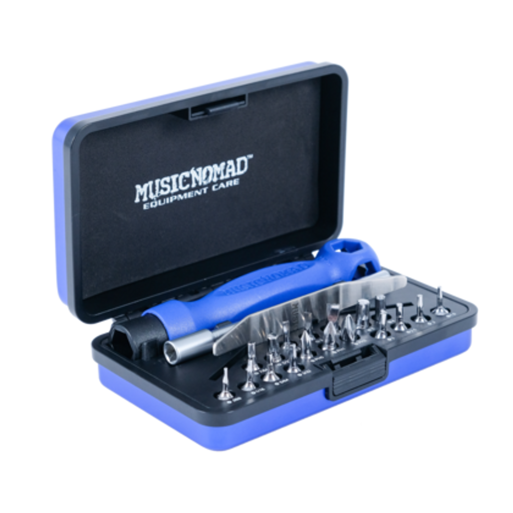 Premium Guitar Tech Screwdriver and Wrench Set