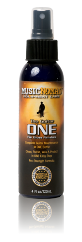 The Guitar ONE - All in 1 Cleaner, Polish, Wax for Gloss Finishes