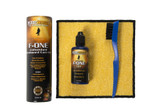 Music Nomad MN125 F-ONE Unfinished Fretboard Care Kit - Oil, Cloth, Brush