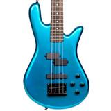 Spector PERF4MB Performer Series 4 String Bass Guitar - Metallic Blue