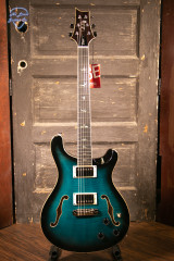PRS SE Hollowbody II Piezo Electric Guitar - Peacock Blue