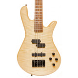 Spector LG4CLSAMNAT Legend Classic 4 String Bass Guitar - Ash Body Maple Top Natural