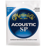 Martin MSP4200 Phosphor Bronze Medium Acoustic Guitar Strings 3-Pack  (.013/.056)