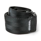 Dunlop Deluxe Seatbelt Black Strap