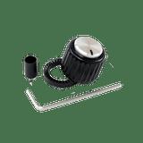 D'Addario Large Loknob Black/Silver
