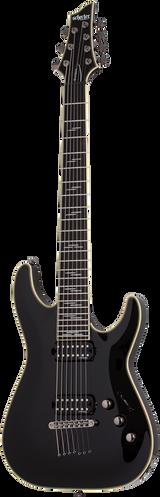 Schecter C-7 Blackjack Black Gloss Electric Guitar