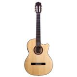 Kremona Flamenco Series Rosa Luna Acoustic/Electric Guitar