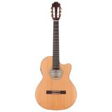Kremona Sofia S63CW Nylon Cutaway Guitar w/ Case and Truss Rod