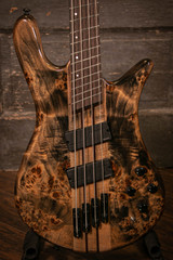 NS Dimension 4 Multiscale Electric Bass - Super Faded Black Gloss