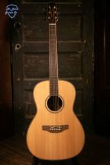 Takamine GY93E Natural Left Handed New York Style Parlor Acoustic/Electric Guitar
