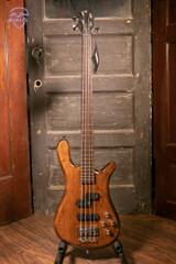Warwick Pro Series Streamer LX-4 String - Antique Tobacco Transparent Satin Bass Guitar
