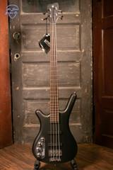 Warwick RockBass Corvette Basic-4 String - Lefthanded - Nirvana Black Transparent Bass Guitar
