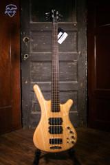 Warwick Pro Series Corvette $$-4 String - Natural Transparent Satin Electric Bass