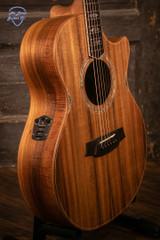 Cole Clark AN3EC-BLBL Acoustic/Electric Guitar