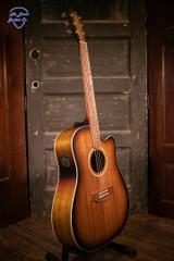 Cole Clark FL2EC-BLBL-SUN Acoustic Electric Guitar
