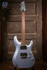 Schecter C-6 Deluxe Blue Steel Limited Edition Color Electric Guitar