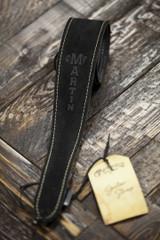 Martin Black Suede Guitar Strap (18A0016)