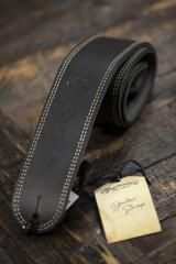 Martin Black Ball Glove Leather Guitar Strap (18A0013)