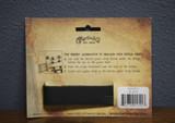 Martin Black Headstock Guitar Strap Tie (18A0031)