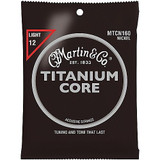 Martin MTCN160 Titanium Core Acoustic Guitar Strings