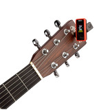 D'Addario Planet Waves Eclipse Clip-on Tuner in Red