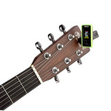 D'Addario Planet Waves Eclipse Clip-on Tuner in Green