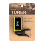 D'Addario Planet Waves Eclipse Clip-on Tuner in Yellow