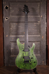 Used Mayones Setius Gothic Bartione Electric Guitar w/Bag
